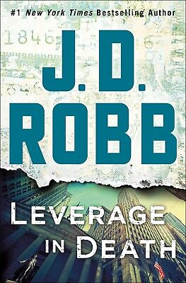 NEW Audio Book Leverage in Death by J. D. Robb 2018 Unabridged