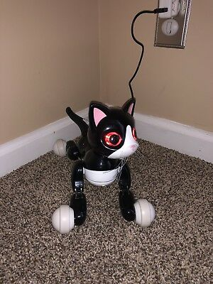 **ZOOMER KITTY INTERACTIVE Cat Toy Pet Robot Kitten & Charging Wire Only**