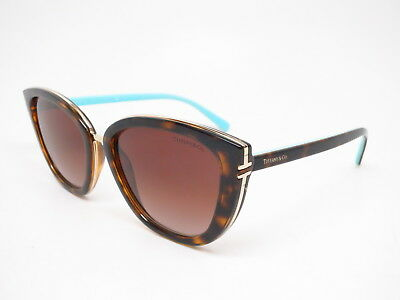 7451bab48d3e New Authentic Tiffany   Co TF 4152 8015 3B Havana with Brown Gradient  Sunglasses