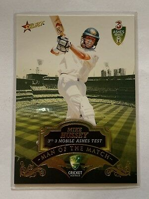 Select 2007 Cricket Australia Man Of The Match MTM3 Mike Hussey