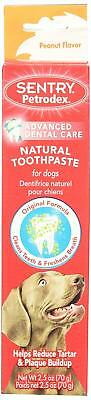 SENTRY Petrodex Natural Dental Care Toothpaste Peanut Flavour for Dogs - 2.5 oz