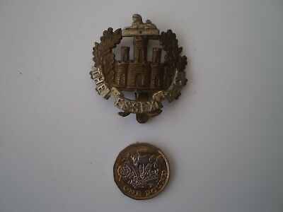 WW 1 Essex Regiment TA 4th. Battalion Cap Badge