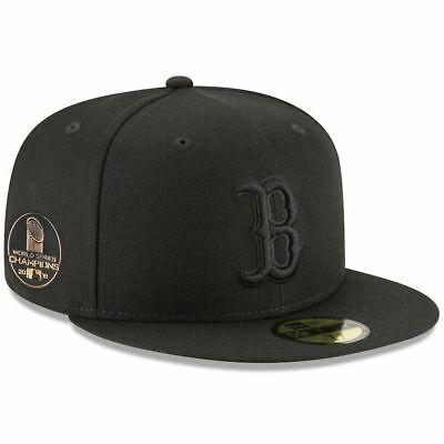 New Era Boston Red Sox 2018 World Serie Campioni Cappello con Visiera Tutti  Neri 86f33c5d91c7