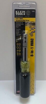 Klein Tools 32596  HVAC 8-in-1 Slide Driver Screwdriver/Nut Driver