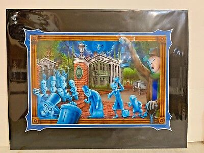 Disney Parks The Haunted Mansion Deluxe Print By Craig Fraser New