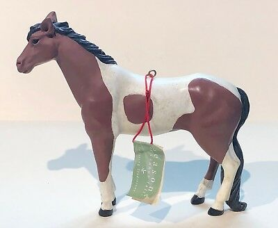 New Vintage~Large Painted Pony Horse Ornament~Midwest Of Cannon Fall~Nwt