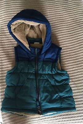 Mini club Blue  Gilet Age 2-3