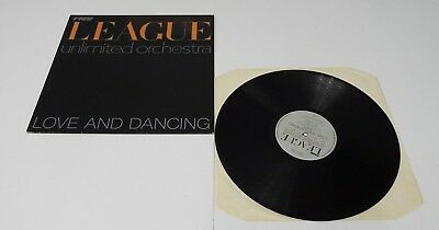 The League Unlimited Orchestra Love And Dancing Vinyl LP A1 B2 Pressing - EX