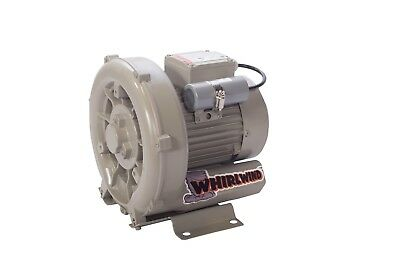 "Septic Regenerative Blower, 1/2 HP, 64 CFM, Dual Voltage,1 1/4"" port, 18 Mo WTY"