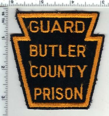 Butler County Prison Guard (Pennsylvania) 1st Issue Shoulder Patch - RARE