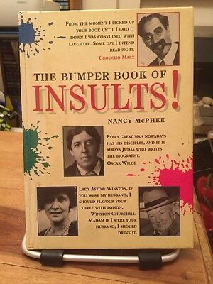 The Bumper Book Of Insults  By Nancy Mcphee