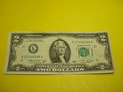 1976 - USA $2 bill - two dollar note - circulated - K27149186A