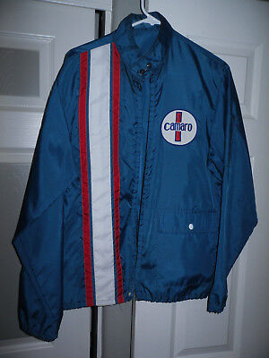 Vintage 1960s Camaro Windbreaker Jacket Super Rare!!!