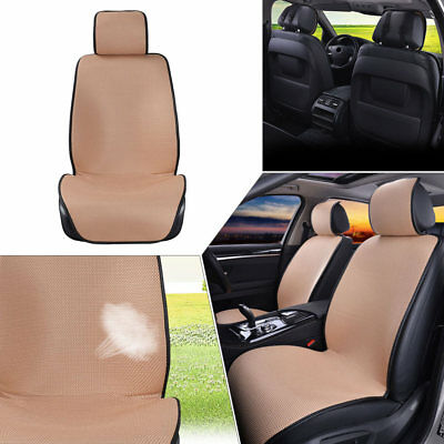 1pc Breathable Car Front Seat Covers SUV Auto Cushion Mat Mesh Sponge Universal