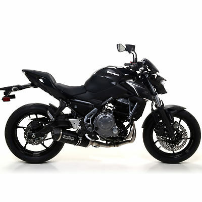 Scarico Completo Kawasaki Z 650 2017 > Arrow Race Tech Alu Dark Carby No Kat