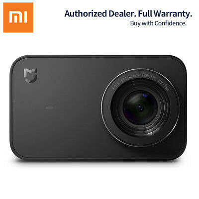 "Xiaomi Mijia 4K 30fps Sport Action Camera Bluetooth Wifi 2.4"" Touch Screen Gift"