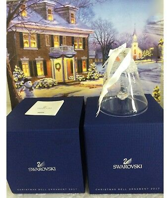 2017 Large Christmas Bell Ornament Annual Edition #5241593 Nib Perfect