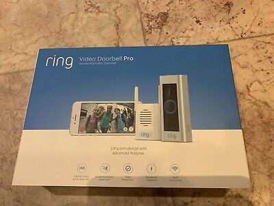 Ring Video Doorbell Pro and Chime Pro Bundle