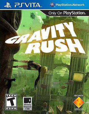 NEW Gravity Rush (PlayStation Vita, 2012) PSVita NTSC