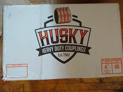 """4"""" NH Couplings Husky USA - Box of 100 - Blow Out Sale all Couplings Tyler Inc."""