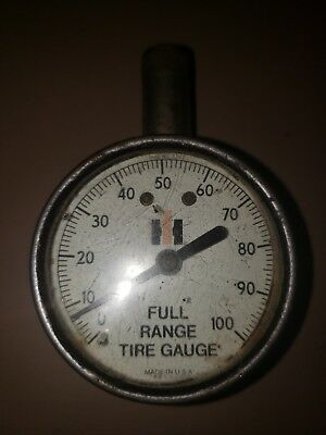 Vintage IH International Harvester Full Range Tire Pressure Gauge