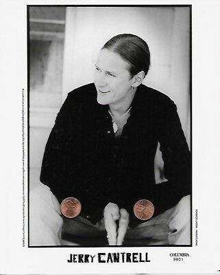 JERRY CANTRELL Original 8x10 Publicity Press Kit Photo Portrait Alice In Chains