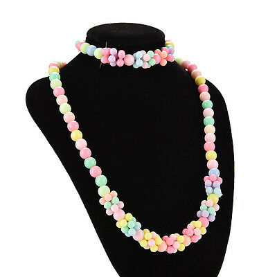 Best Sweet Little Girl Jewelry Gifts Cute Jewelry Necklace & Bracelet SP