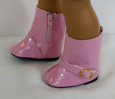 BOOTS PINK FOR 18 in AMERICAN GIRL DOLL SHOES CLOTHES ACCESSORIES