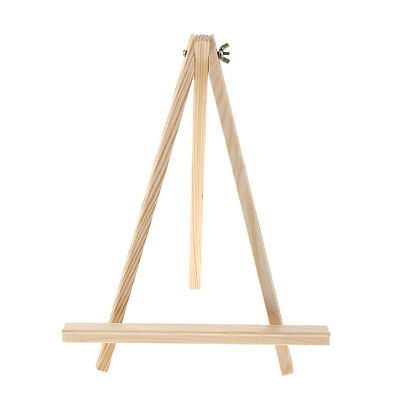 Adjustable Wooden Display Easel Stand Photo Frame Book Holder Jewelry Rack