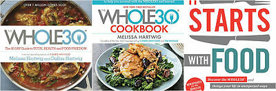 The Whole30 + The Whole30 Cookbook + It Starts With Food (3 E-BooK)