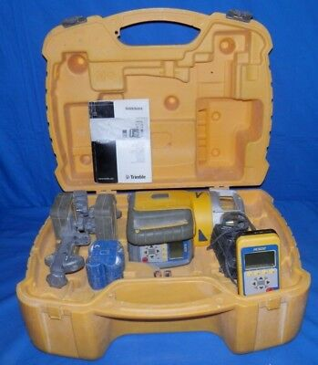 Spectra Precision GL622 Dual Grade Laser With 2 HL750 Receivers & RC602 Remote