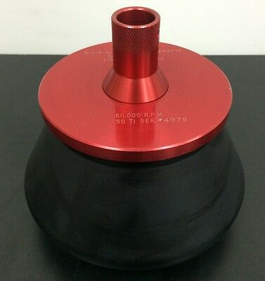 Beckman Coulter SW 50 Ti Fixed Angle 12 Place Centrifuge Rotor 50000RPM D5
