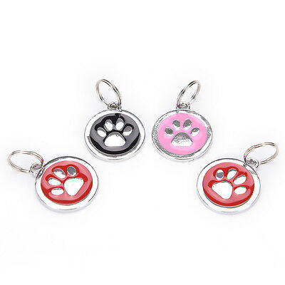 Dog ID Tag Free Custom Personalized Engraved Pet Puppy Cat necklaces Name Charms