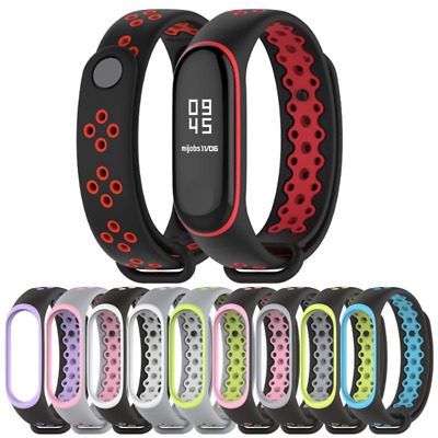 For Xiaomi Mi Band 3 Replacement Sport Silicone Strap Wristband Bracelet