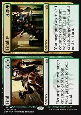 *MtG: FIND // FINALITY - Guilds of Ravnica Rare - magicman-europe*
