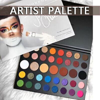 M@RPHE X James Charles Inner Artist 39 Pressed Eye Shadow Palette Make-Up