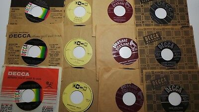 Lot of 75 1950's & 60's Polka 45 rpm Records All NM VG++ Condition Soma Mn Wis