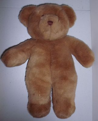 "Build A Bear 15"" Beige Bear plush lovie, retired plush."