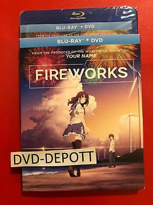 Fireworks Blu-ray + DVD & Slipcover Brand New FAST Free Shipping