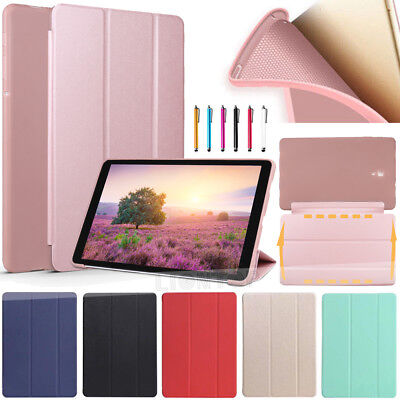 "For Samsung Galaxy Tab A 10.5"" T590 T595 2018 Case Smart TPU Leather Flip Cover"