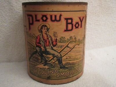vintage Plow Boy chewing and tobacco container lot T2