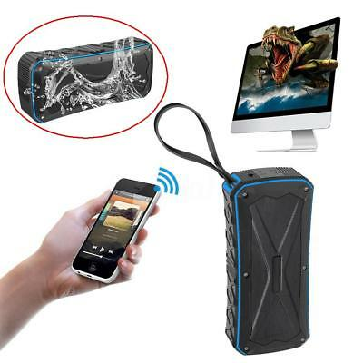 20W Portable Bluetooth 4.1 Mini Wireless Power Bank Speaker Stereo Waterproof Bl
