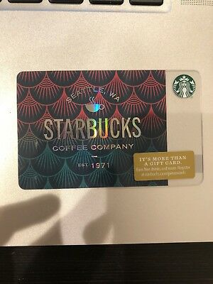 Starbucks 2018 Scales Gift Card (no value, brand new)