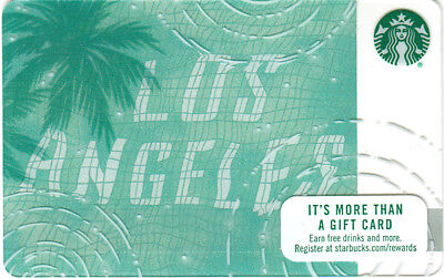 Starbucks 2017 Destination Los Angeles Reflections Gift Card (no value, new)