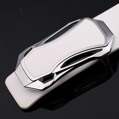 Luxury Men's Silver Alloy Sports Car Strap Belt Buckle Fashion Pin Buckle SELL