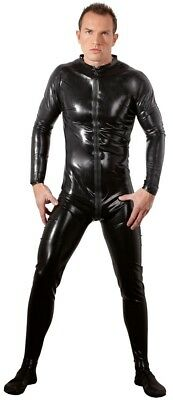 Tuta in lattice nero da Uomo - Late X Men's black latex suit костюм из латекса