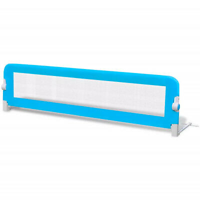 Baby Safety Foldable Bed Rail 150x42cm Beds Guard Protection Blue
