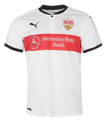 Puma Vfb Stuttgart Home Jersey White Red 2017 2018 SIZE M NEW with LABEL