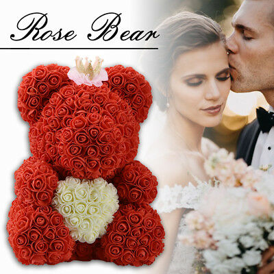 Teddy Bear Rose Bear 38CM Romantic Red and Pink Valentine's Day Gift