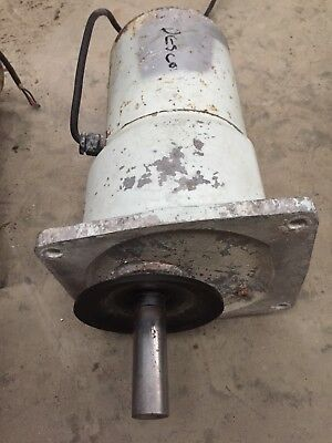 Bulk Milk Tank Rotamilk Agitator Motor/Gearbox 1/8th HP Shaft Speed 42 RPM